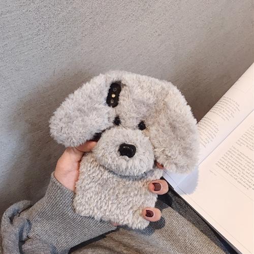 ♥아이폰11입고♥ 아이폰 뽀그리푸들 털케이스