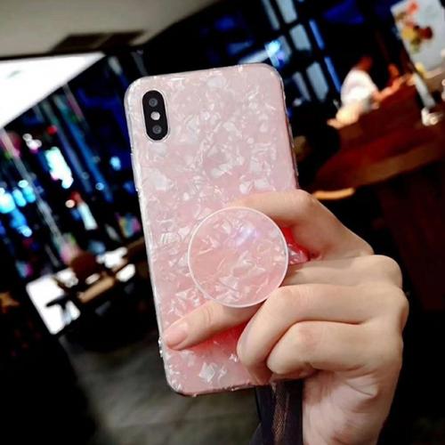 봄신상♥아이폰 감성 자개 써클그립 케이스(3COLORS)